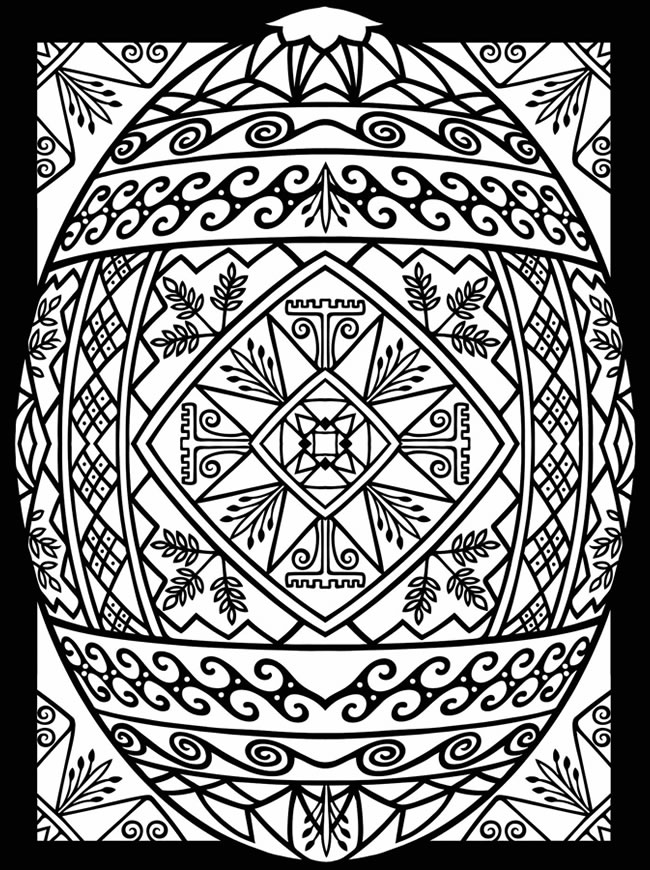 pysanky egg coloring pages pysanky egg coloring pages at getcoloringscom free pages egg pysanky coloring