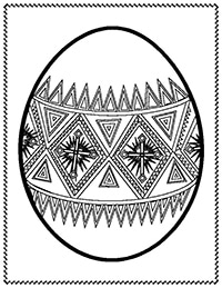 pysanky egg coloring pages pysanky printables easter egg pattern easter egg pages coloring pysanky egg