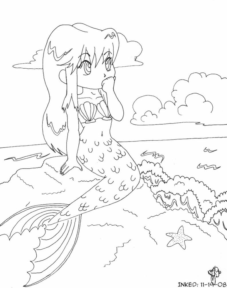 queen mermaid coloring pages coloring page mermaid by catqueenofpluto on deviantart queen coloring mermaid pages