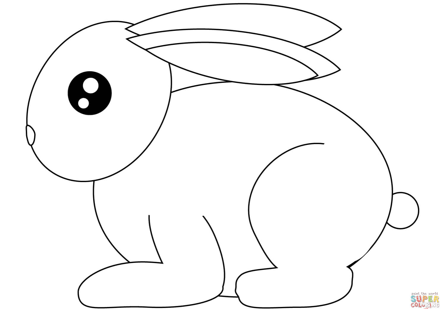 rabbit pictures to colour and print free printable rabbit coloring pages for kids print to pictures rabbit colour and