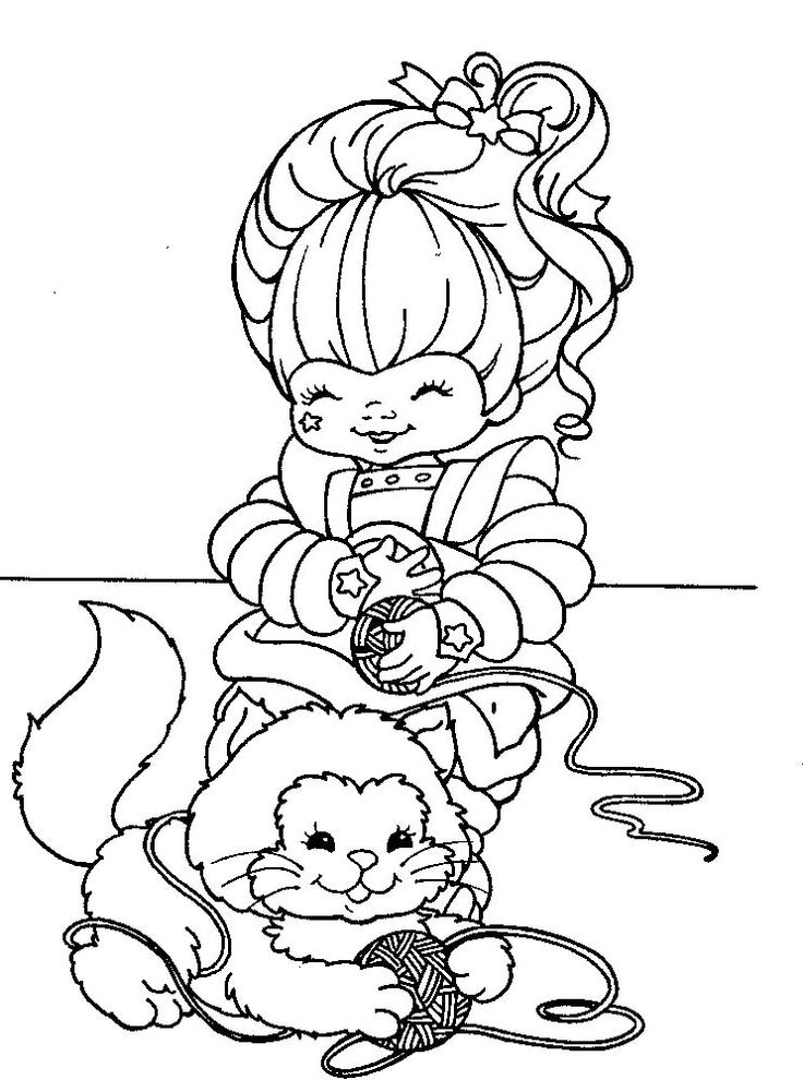 rainbow brite coloring pages 17 best images about rainbow brite coloring pages on coloring rainbow pages brite