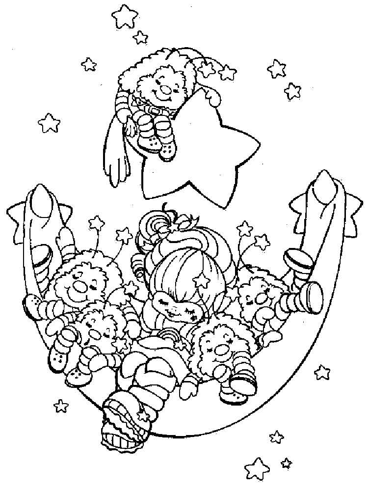 rainbow brite coloring pages coloring pages rainbow brite coloring home coloring rainbow brite pages
