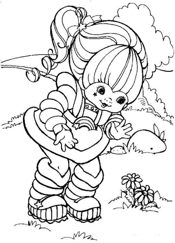 rainbow brite coloring pages rainbow brite coloring pages to download and print for free brite rainbow pages coloring