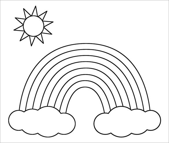 rainbow coloring pages download rainbow coloring for free designlooter 2020 coloring rainbow pages