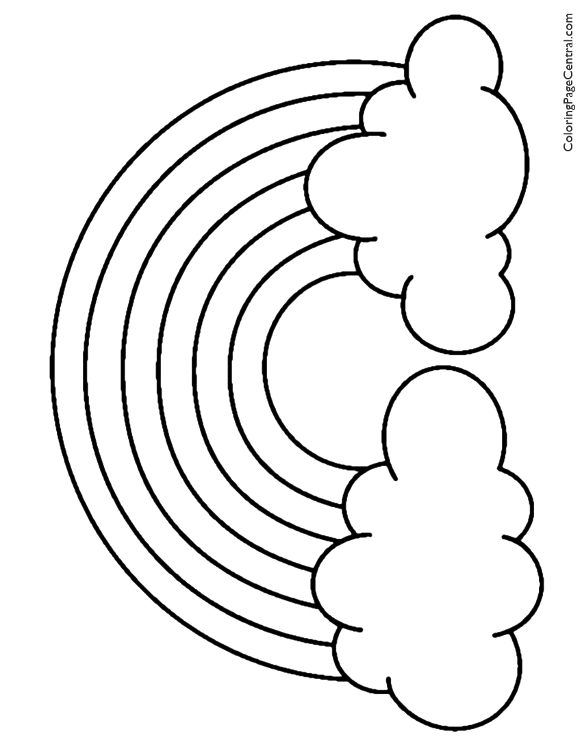 rainbow coloring pages get this free rainbow coloring pages to print rk86j coloring rainbow pages