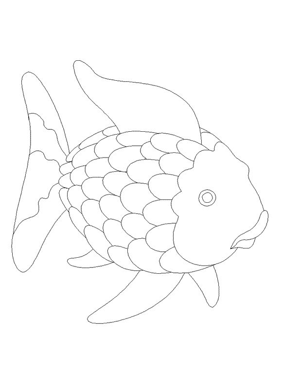 rainbow fish cutout pin by muse printables on printable patterns at rainbow cutout fish