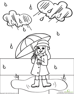 rainy day coloring pages for preschoolers best of rainy day coloring pages cool wallpaper preschoolers for day coloring rainy pages