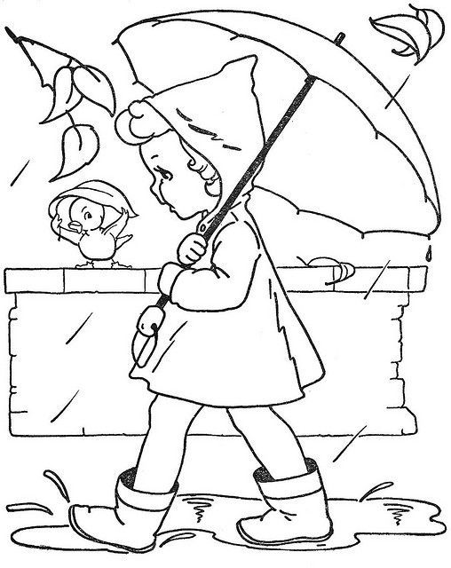 rainy day coloring pages for preschoolers image result for rainy days vintage coloring pages day preschoolers for rainy pages coloring
