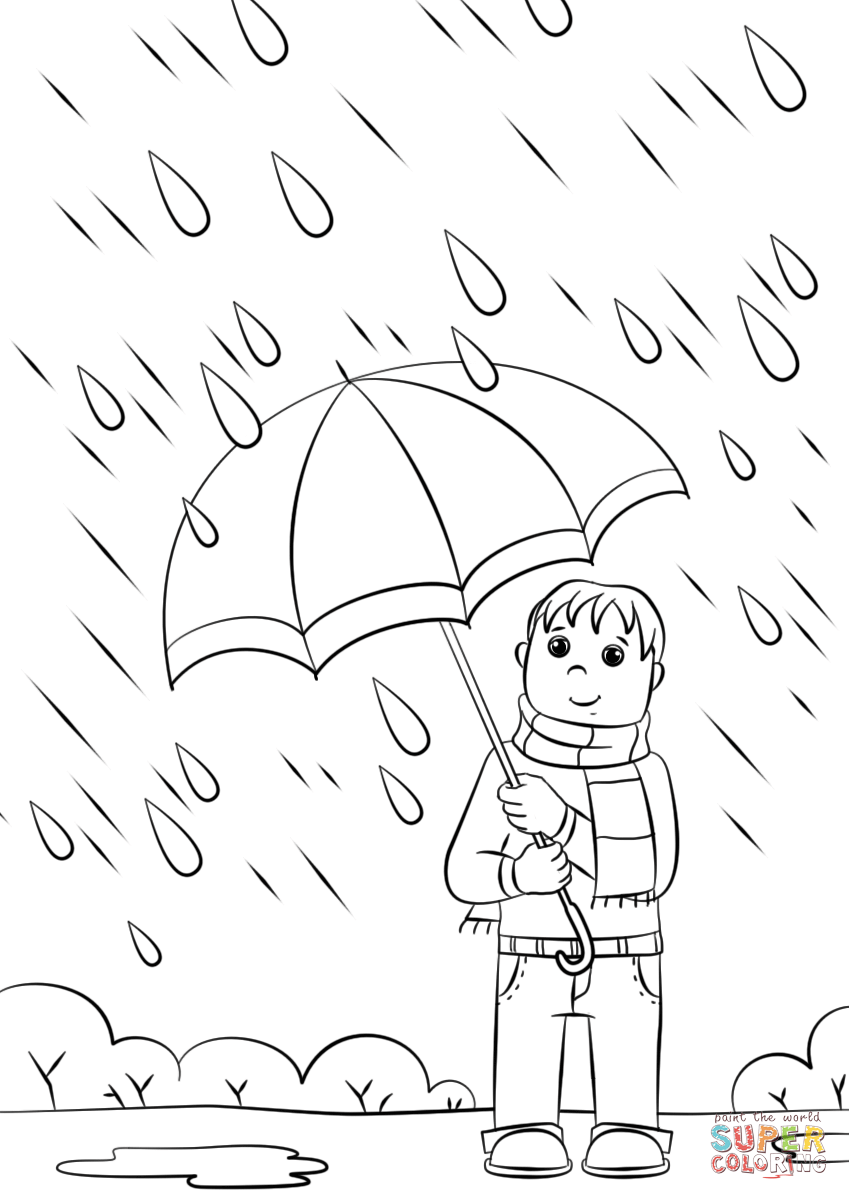 rainy day coloring pages for preschoolers rainy day coloring pages to download and print for free rainy day pages preschoolers coloring for