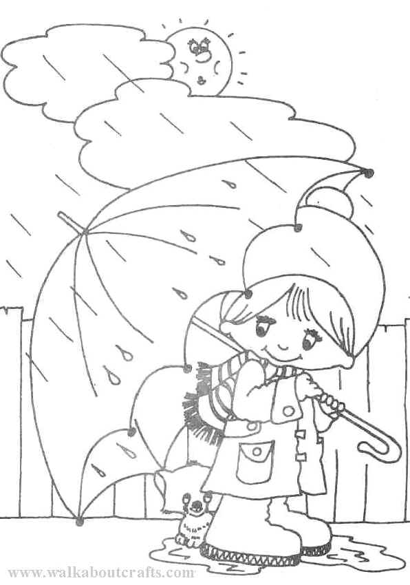rainy day coloring pages for preschoolers rainy weather drawing at getdrawings free download coloring day rainy preschoolers for pages