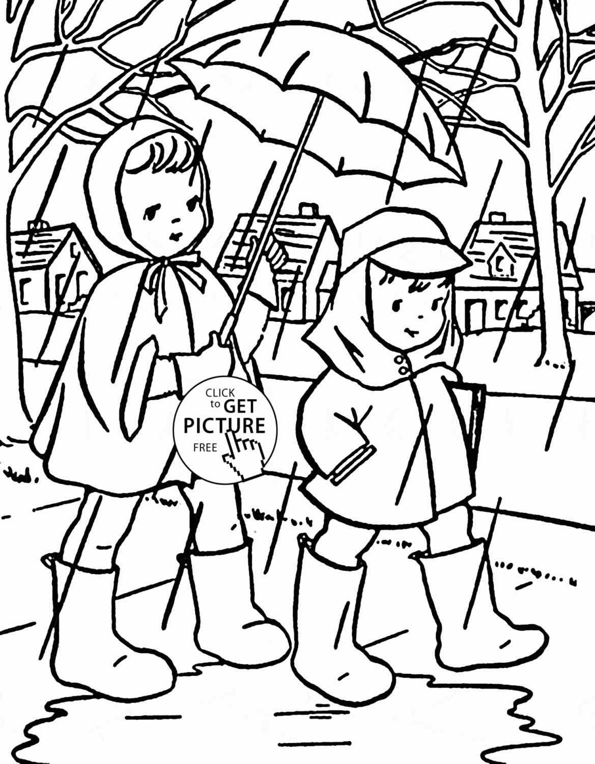 rainy day coloring pages for preschoolers unique duck coloring pages for toddlers thousand of the rainy day coloring preschoolers for pages