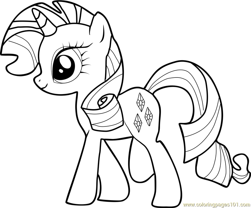 rarity coloring page rarity coloring page free my little pony friendship is rarity coloring page
