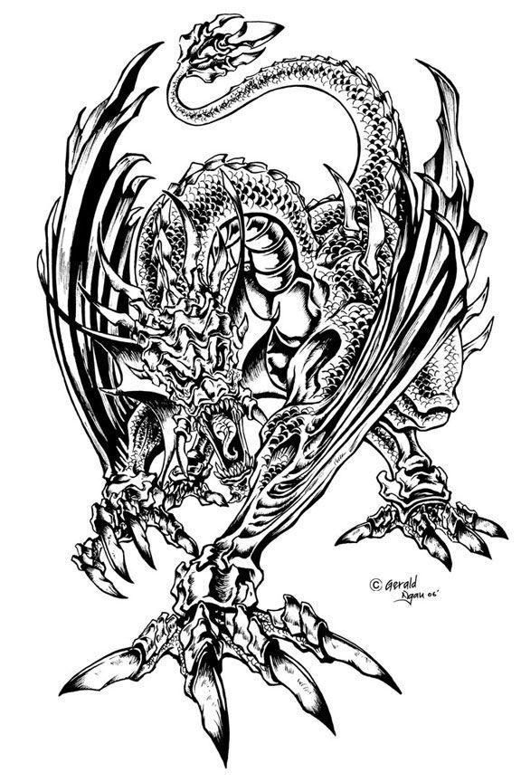 realistic dragon coloring pages realistic dragon coloring pages for adults coloring home realistic dragon coloring pages 1 1
