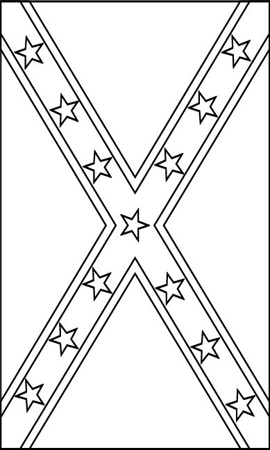 rebel flag coloring pages pin on countryredneck pages flag rebel coloring