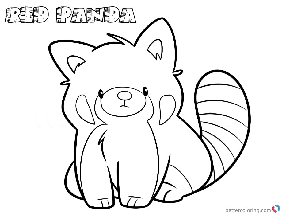 red panda coloring page free how to draw a cartoon red panda step by step coloring coloring page panda free red