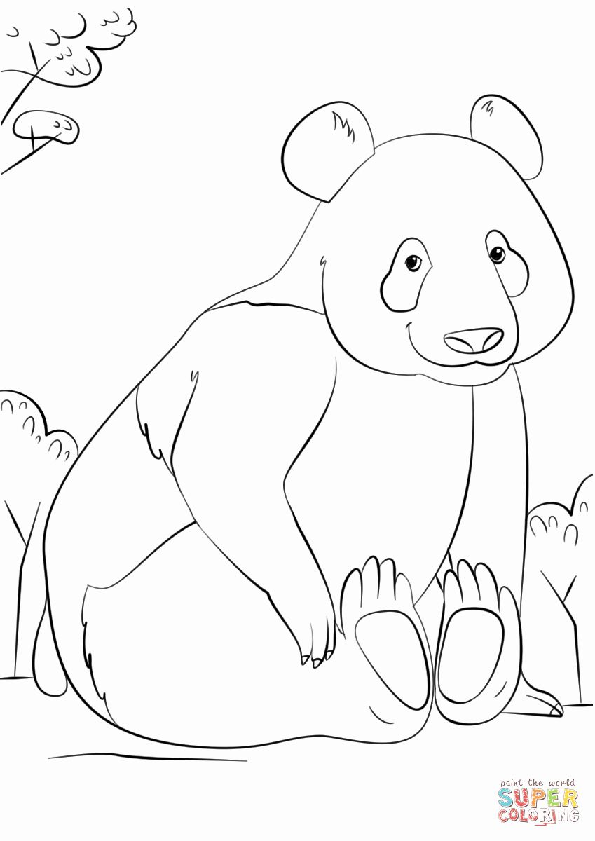 red panda coloring page free pin on top coloring pages kids coloring panda free red page