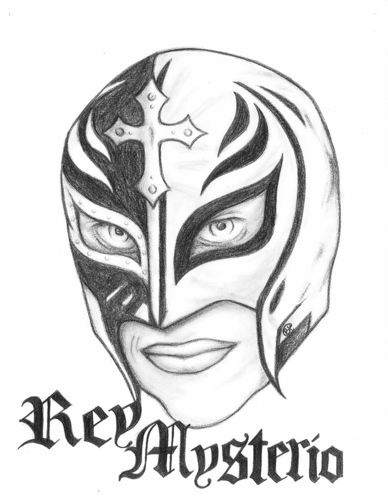 rey mysterio coloring mask rey mysterio drawing free download on clipartmag coloring mask rey mysterio