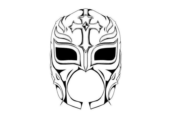 rey mysterio coloring mask rey mysterio mask coloring pages at getcoloringscom rey coloring mask mysterio