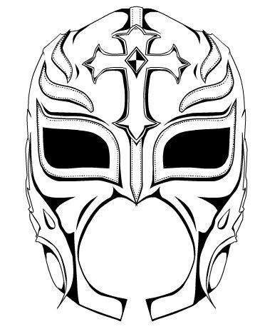 rey mysterio coloring mask rey mysterio mask coloring pages it rey coloring mask mysterio