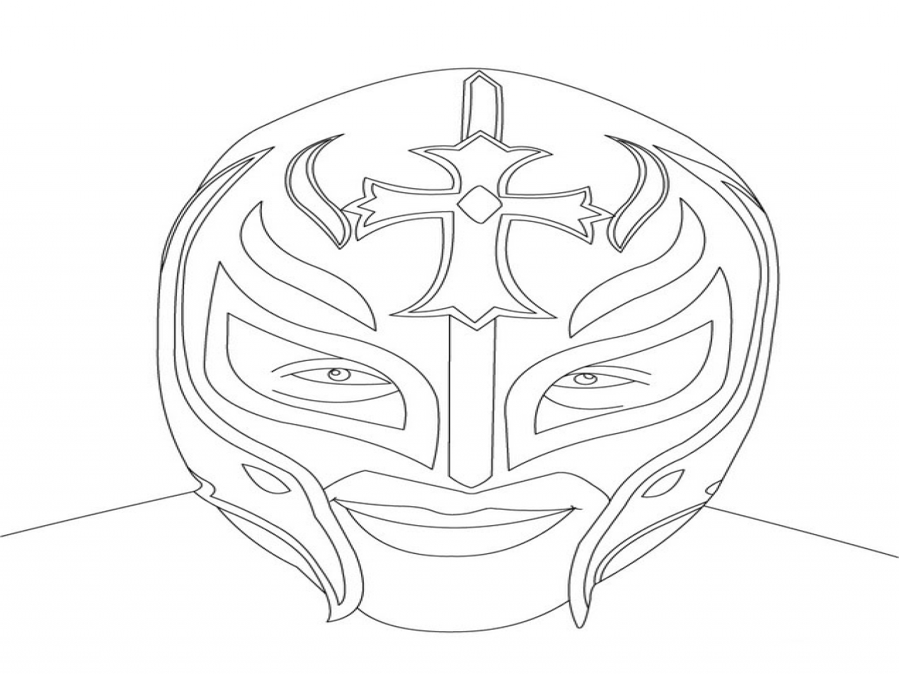 rey mysterio coloring mask rey mysterio mask drawing free download on clipartmag mysterio rey mask coloring