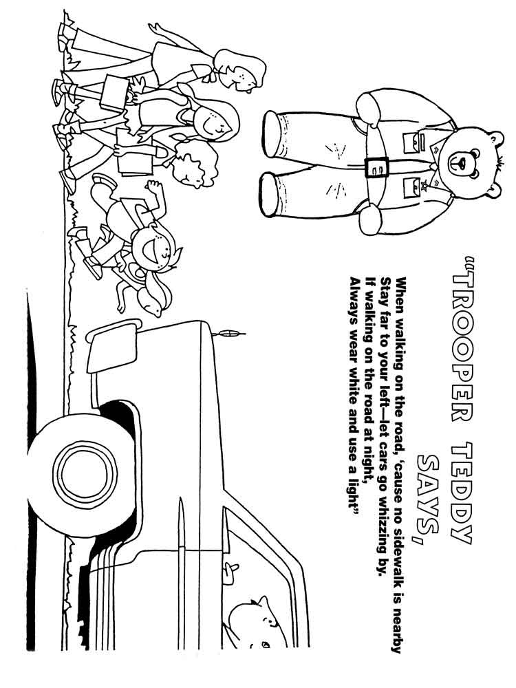 road coloring page car on road coloring page road page coloring