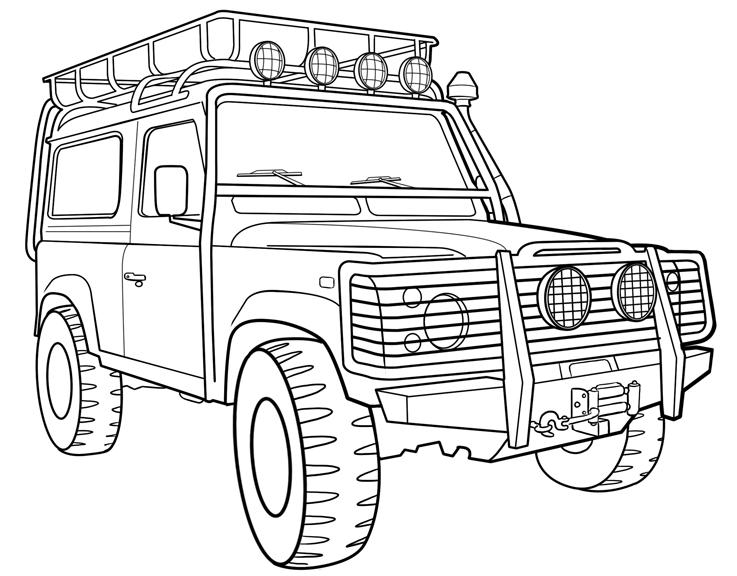 road coloring page off road coloring pages at getdrawings free download road coloring page 1 1