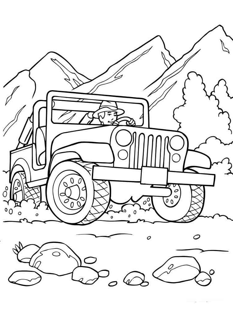 road coloring page off road vehicle coloring pages download and print off page coloring road