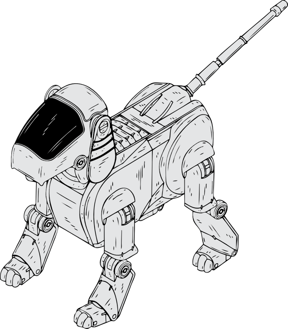 robot dog coloring pages robot dog coloring pages coloring pages to download and pages robot dog coloring