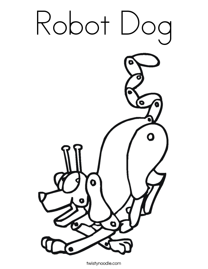 robot dog coloring pages robot pictures to color coloring home coloring robot dog pages