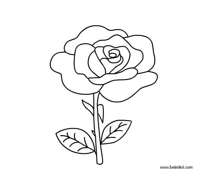 rose flower coloring pictures flower bouquet of roses coloring page flowers templates coloring flower rose pictures