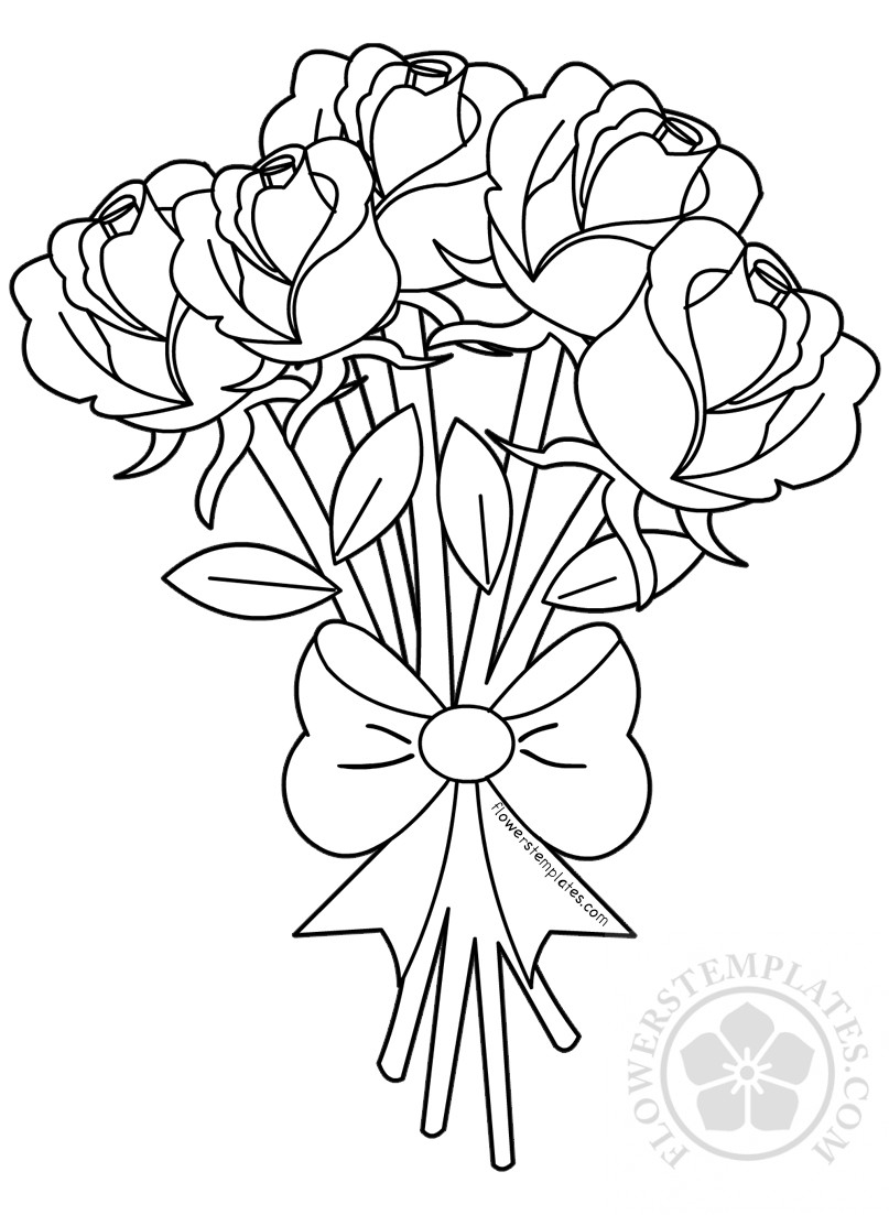 rose flower coloring pictures rose coloring pages pictures coloring flower rose