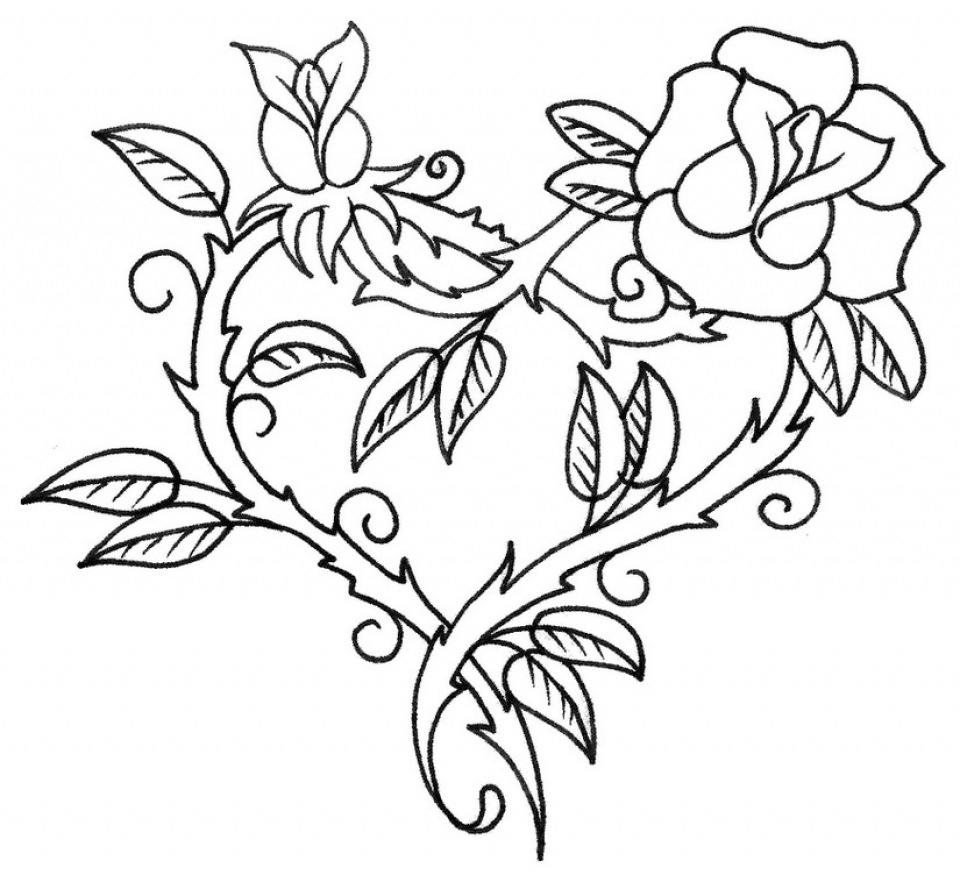 roses coloring pages printable rose coloring books awesome printable rose coloring pages printable pages coloring roses