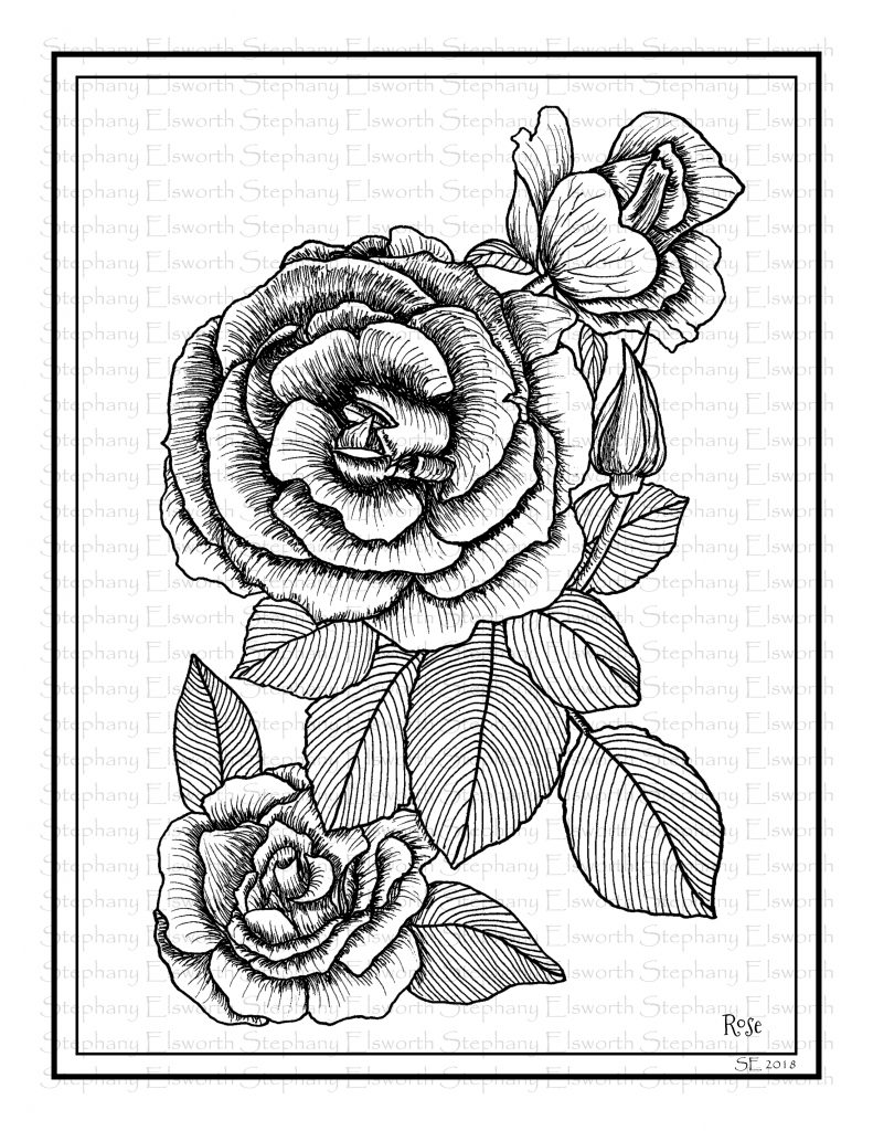 roses coloring pages printable roses coloring pages to download and print for free roses printable coloring pages