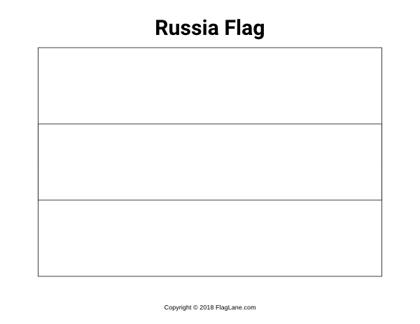 russian flag to colour free printable russia flag coloring page download it at to colour flag russian