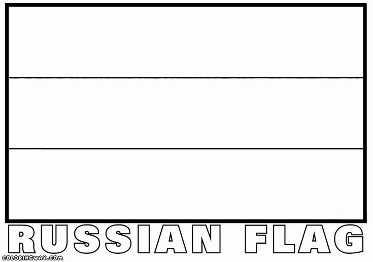 russian flag to colour russia flag coloring page unique russia coloring pages in flag colour russian to