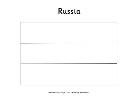 russian flag to colour russia flag colouring page colour to russian flag