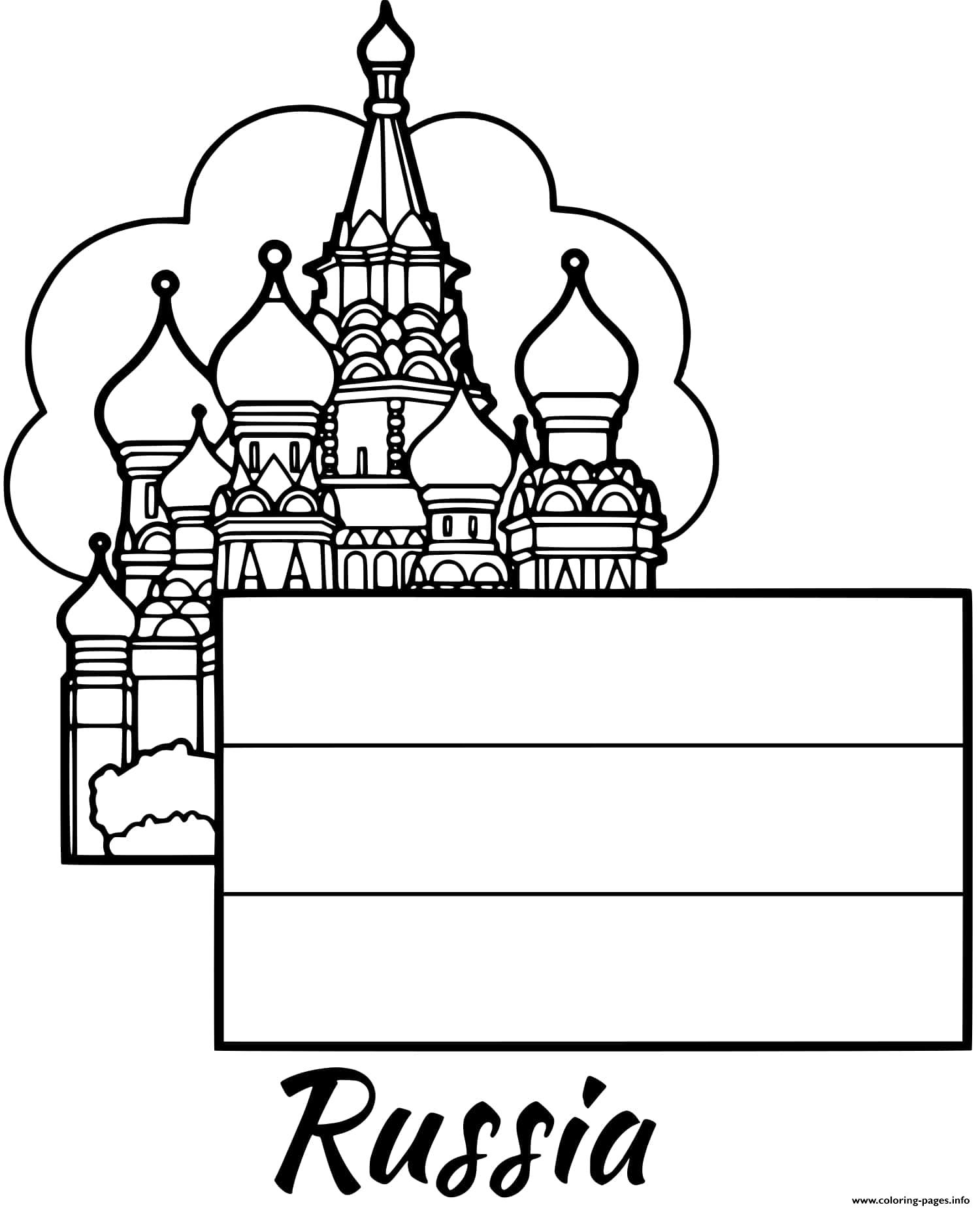 russian flag to colour russia flag moscow coloring pages printable russian flag colour to