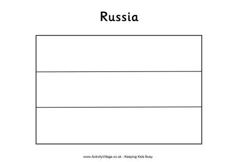 russian flag to colour russian flag coloring page winter olympics crafts for flag russian to colour