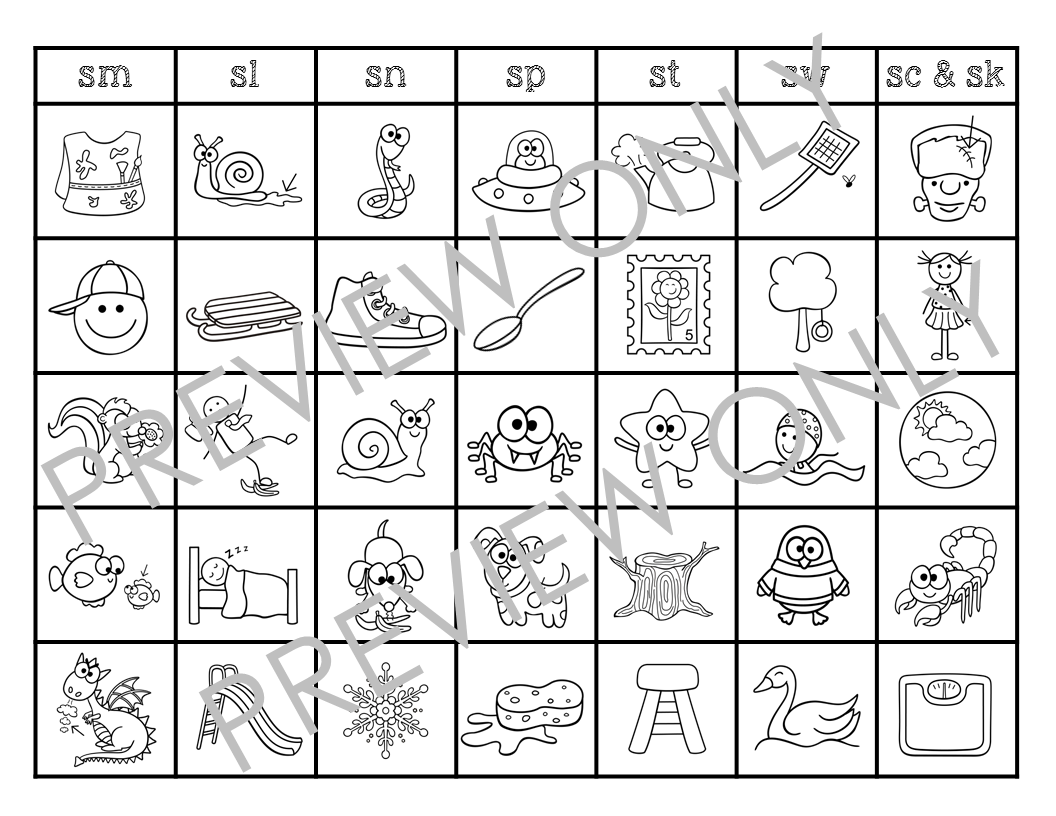 s blend coloring pages 10 fun and simple s blend activities a gift of speech pages coloring blend s