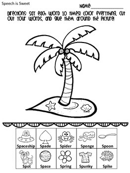 s blend coloring pages articulation s blend sentence coloring sheets initial sk blend pages coloring s