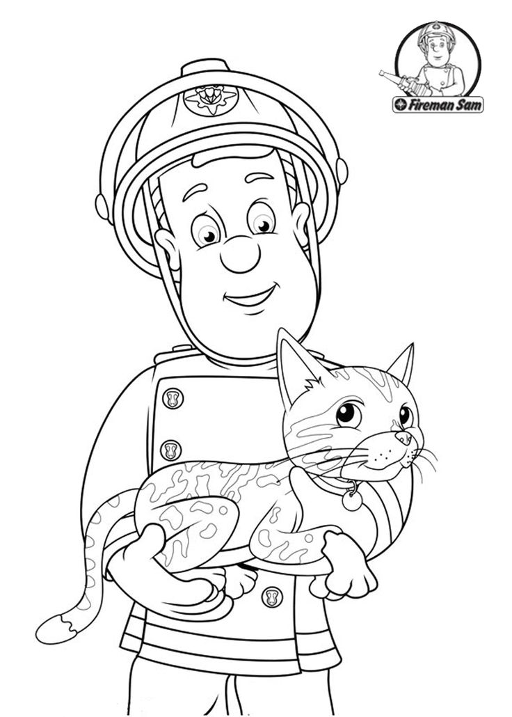 sam and cat coloring pages fireman sam helping the cat cat coloring page coloring cat sam and coloring pages