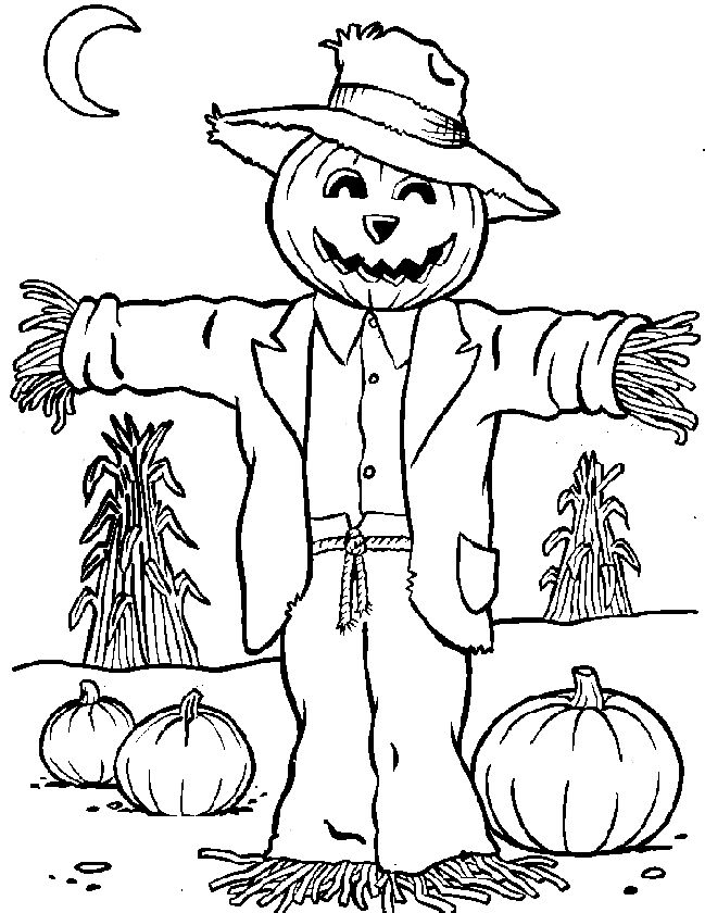 scarecrow coloring pictures 64 best icolor quotscarecrowsquot images on pinterest coloring pictures scarecrow coloring