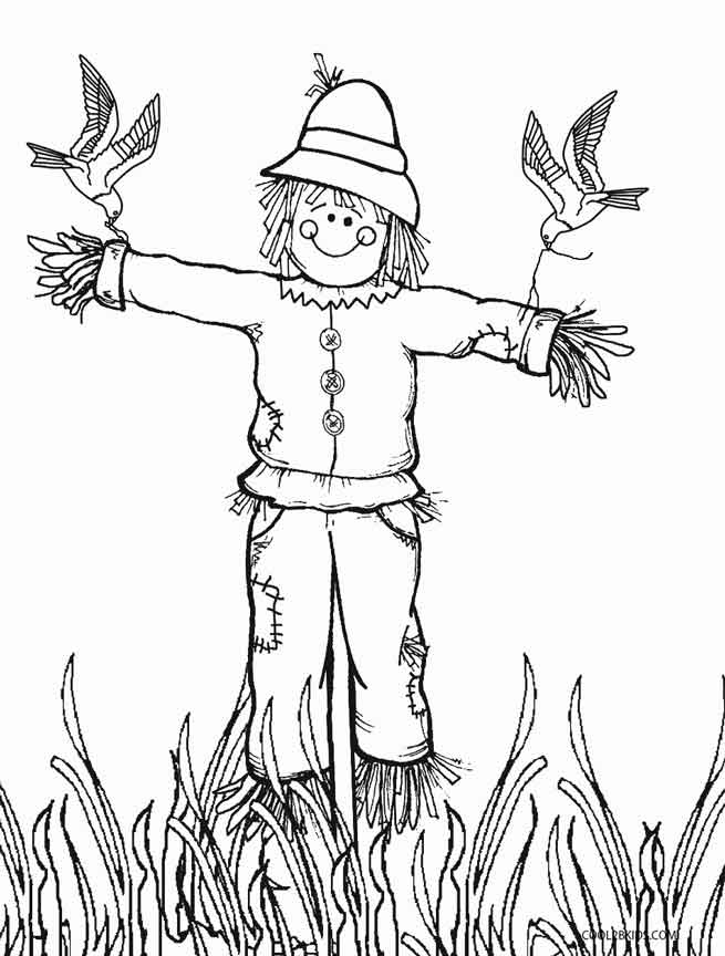 scarecrow coloring pictures coloring lab coloring pictures scarecrow