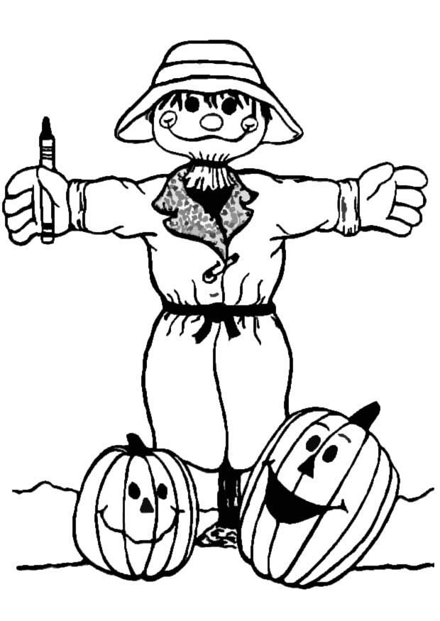 scarecrow coloring pictures coloring pages of scarecrows for preschooers coloring home scarecrow coloring pictures