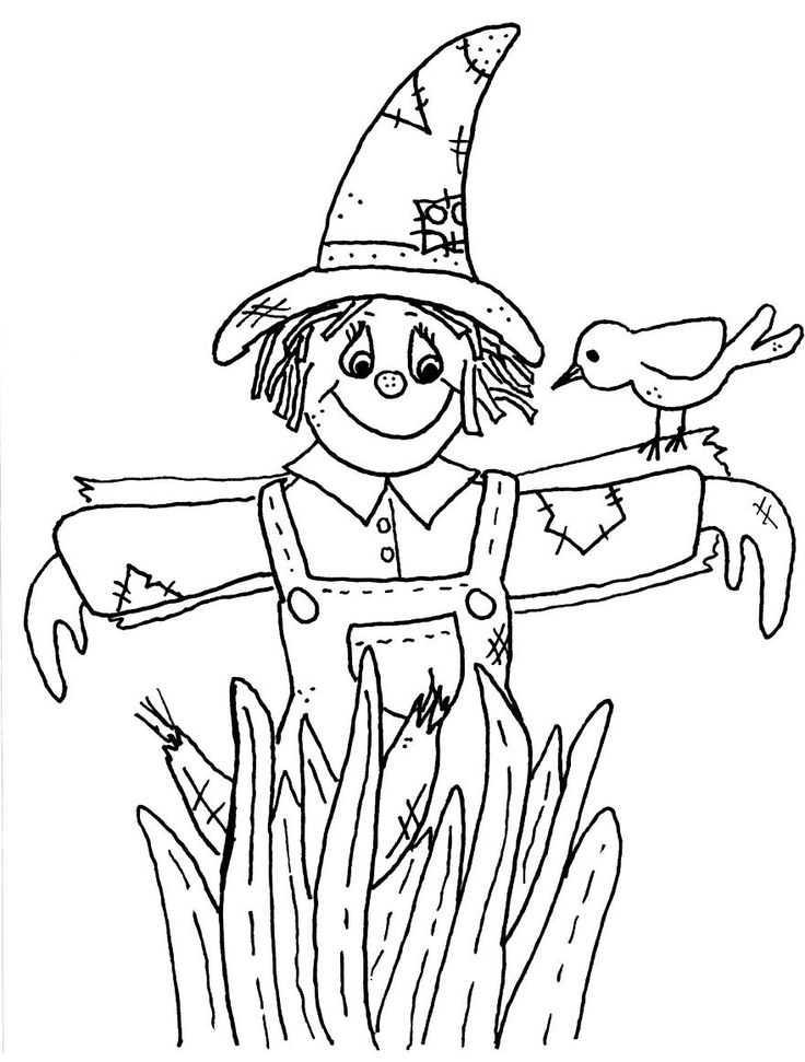 scarecrow coloring pictures free printable coloring pages of scarecrows coloring home coloring pictures scarecrow