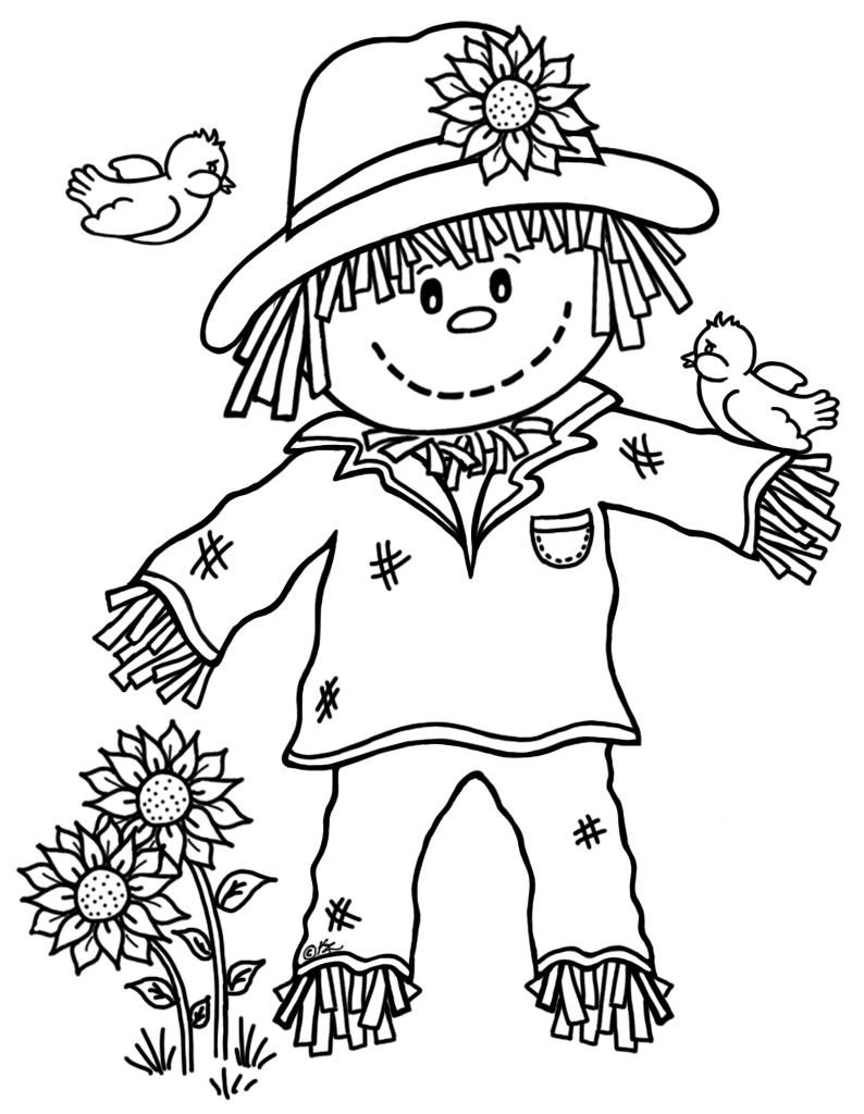 scarecrow coloring pictures free printable coloring pages of scarecrows coloring home scarecrow pictures coloring