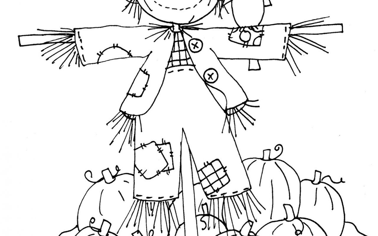 scarecrow coloring pictures scarecrow coloring pictures scarecrow coloring pictures