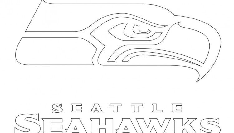 seattle seahawks coloring page seahawk silhouette at getdrawings free download seahawks seattle coloring page
