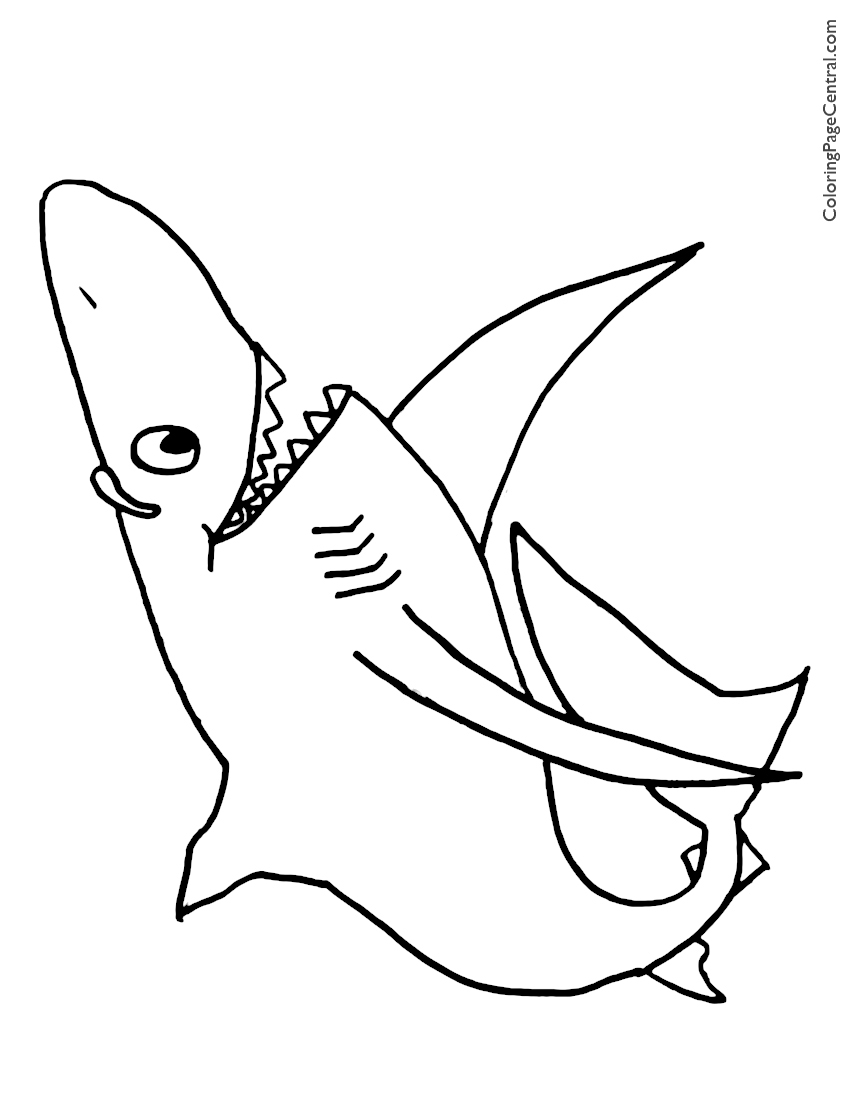 shark coloring pictures coloring pages shark coloring pages free and printable shark coloring pictures