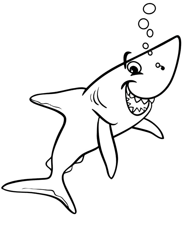 shark coloring pictures free easy to print shark coloring pages tulamama coloring shark pictures